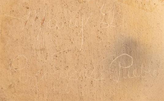 Artist Signature - Mary Talachy Gutierrez, Pojoaque Pueblo Potter