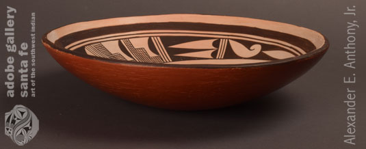 Alternate side view of this bowl by Ant Woman.