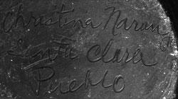 Artist Signature - Christina Naranjo, Santa Clara Pueblo Potter