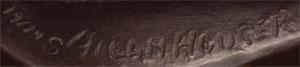 Artist Signature - Allan Houser, Chiricahua Apache