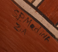 Artist Signature - Sofia Pino Medina, Zia Pueblo Potter