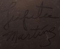 Lupita Martinez (1918- 2006) signature
