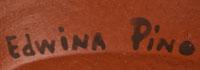 Artist Signature - Edwina Pino, Zia Pueblo