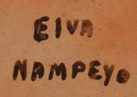 Elva Tewaguna Nampeyo, Hopi-Tewa artist signature