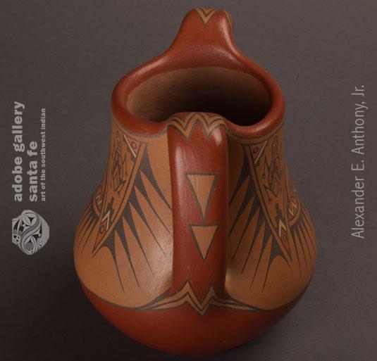 Alternate View of this Santa Clara Pottery Jar.