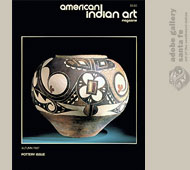 American Indian Art Magazine - Special Pottery Issue - Autumn 1987
