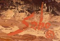 Betty Jean Sabo (1928 - 2016) signature