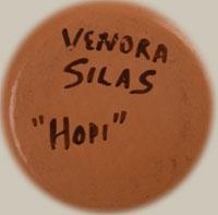 Artist Signature - Venora Silas, Hopi-Tewa