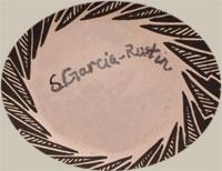 Artists' Signature - Patrick and Shawna Garcia-Rustin, Acoma Pueblo Potters