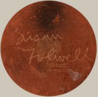 Artist Signature -Susan Folwell (1970- ) Mesa Flower