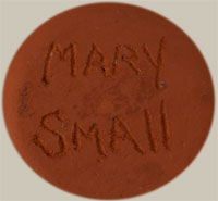 Artist Signature - Mary Small Kal-La-Tee, Jemez Pueblo Potter