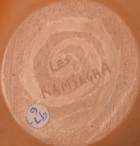 Artist Signature - Les Namingha, Tewa-Zuni Potter