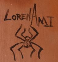 Artist Signature - Loren Ami, Hopi-Tewa Potter