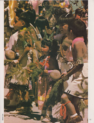Example image from The Indian Arts of New Mexico, Volume 2 Reprinted Feature from New Mexico Magazine 1977.  Image subject to all copyright laws.