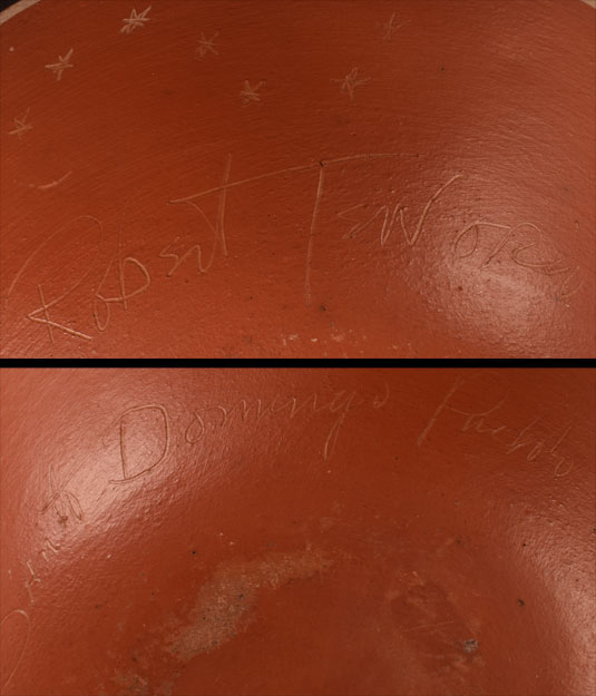 Robert Tenorio (1950- ) artist signature