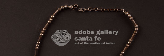 Alternate view of the closure of this necklace - simple hook.