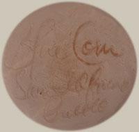 Artist Signature - Crucita Gonzales Calabaza - Blue Corn, San Ildefonso Pueblo Potter