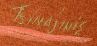 Artist Signature - Andrew Van Tsihnahjinnie, Diné Artist