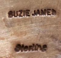 Artist hallmark signature - Suzie James, Diné Artist