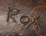 Roxanne Swentzell, Santa Clara Pueblo Artist signature