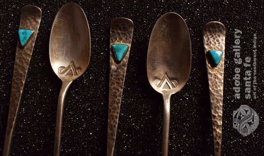 close up view of a few of the spoons.