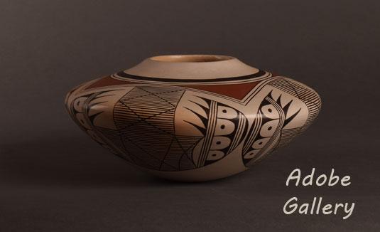 Alternate view of this Hopi Pueblo seed jar.