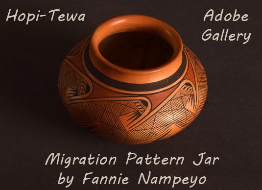 Alternate view of this Fannie Nampeyo Jar.
