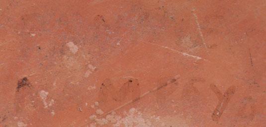 Signature - Fannie Polacca Nampeyo, Hopi-Tewa Potter