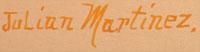 Artist Signature - Julián Martinez (1885-1943) Pocano - Coming of the Spirits