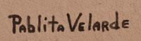 Artist Signature - Pablita Velarde, Santa Clara Pueblo Painter