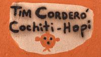 Artist Signature - Tim Cordero, Cochiti-Hopi Pueblo Potter