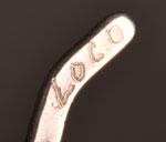 Artist Signature - Jan Loco, Warm Springs Apache Jeweler