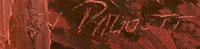Artist signature - Ken Daggett