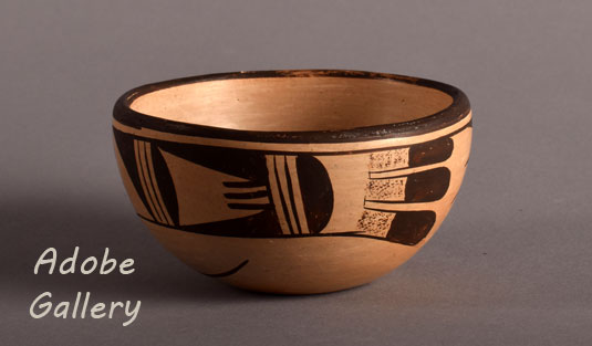 Alternate view of this pottery bowl.