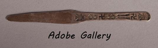 Diné Handmade Coin Silver Letter Opener