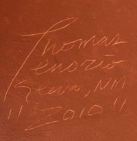 Artist Signature - Thomas Tenorio (1963- ) U-Nah-Thee-Wah