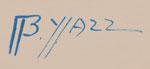 Artist Signature of Beatien Yazz (1928-2012) Little No Shirt (Jimmy Toddy)