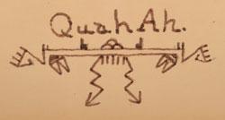 Hallmark Signature of Tonita Vigil Peña, Quah Ah, San Ildefonso Pueblo Painter