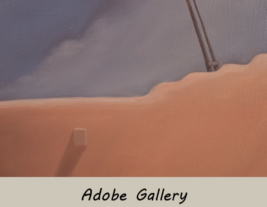 Close up view of a section of this painting.
