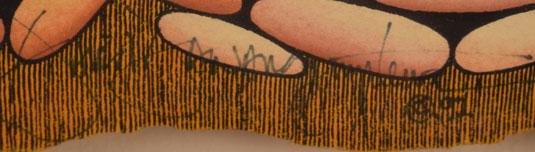 David Dawangyumptewa (1957- ) artist signature