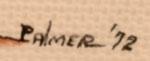 Artist Signature of Ignatius Palmer, Mescalero Apache Artist