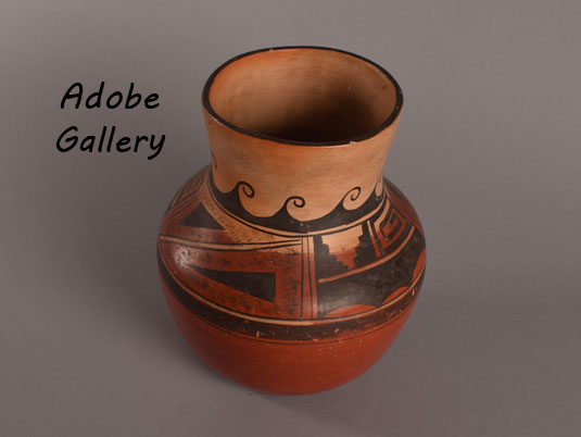 Alternate View of this wonderful jar by Nampeyo.