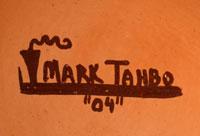 Artist Signature of Mark Tahbo, Hopi-Tewa Potter