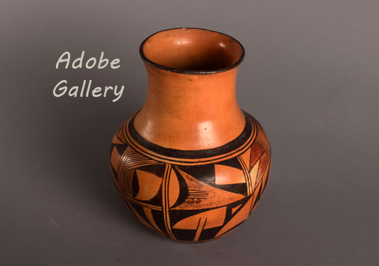 Alternate view of this Hopi pottery jar.