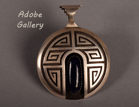 Alternate flip side view of this pendant.