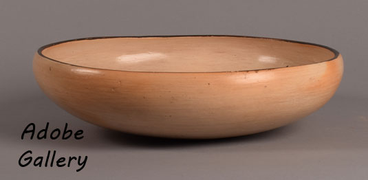 Alternate side view off this bowl.