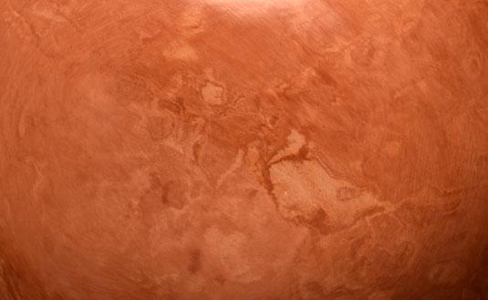 Close up view of the plainware bowl.