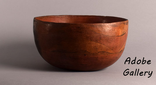 Alternate direct side view of this bowl.