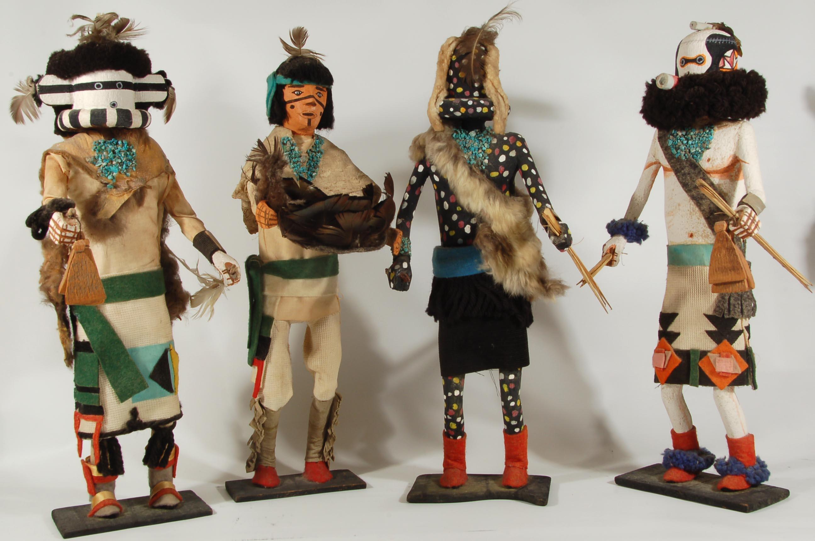 Rare and Remarkable Katsina Dolls - Adobe Gallery, Santa Fe