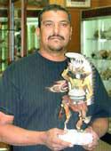Picture of Ed Tewanema of Hopi Pueblo